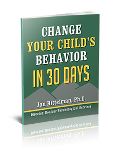 Change Your Child's Behavior In 30 Days